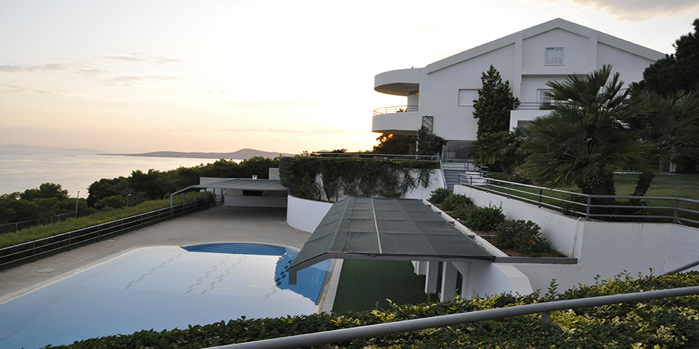 Residential Property in Greece For Sale - Sunset in the house